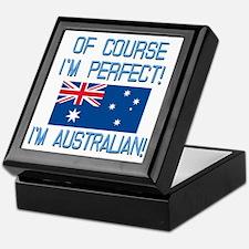 Perfect Australian Keepsake Box