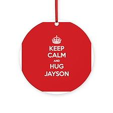 Hug Jayson Ornament (Round)