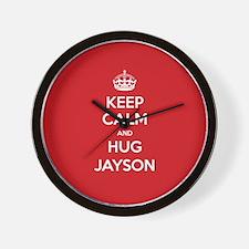 Hug Jayson Wall Clock