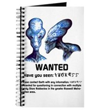 Universe's Most Wanted Blue Journal