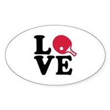 Table tennis love Decal