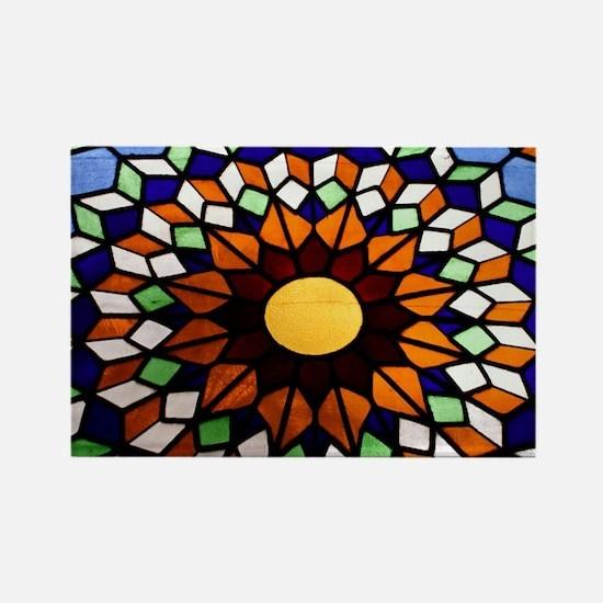 Church Art Rectangle Magnet