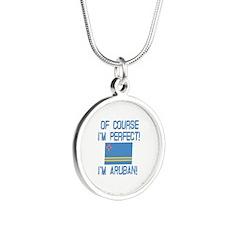 Perfect Aruban Silver Round Necklace