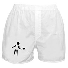 Table tennis Player Boxer Shorts