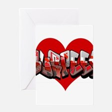 Heart Burpees Greeting Cards
