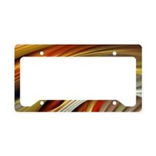 Colors of Art License Plate Holder