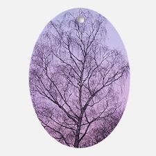 Art of Tree Oval Ornament