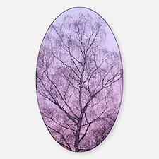 Art of Tree Sticker (Oval)