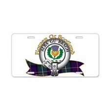 Flower of Scotland Aluminum License Plate