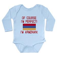 Perfect Armenian Long Sleeve Infant Bodysuit