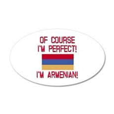 Perfect Armenian 20x12 Oval Wall Decal