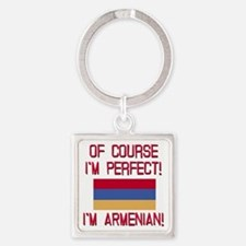 Perfect Armenian Square Keychain