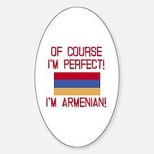 Perfect Armenian Sticker (Oval)
