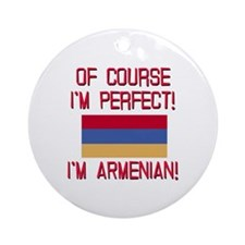 Perfect Armenian Ornament (Round)