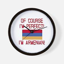 Perfect Armenian Wall Clock