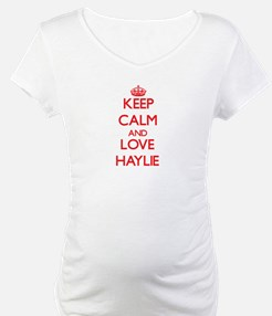 Keep Calm and Love Haylie Shirt
