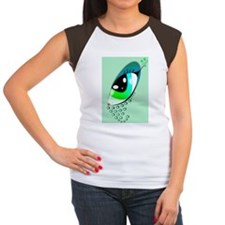 Eye Art Women's Cap Sleeve T-Shirt
