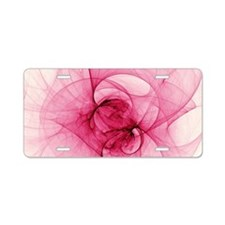 Fractal Art Aluminum License Plate