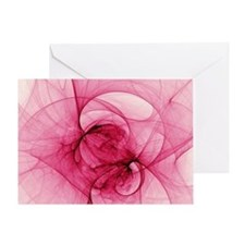 Fractal Art Greeting Card