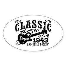 Classic Since 1943 Decal