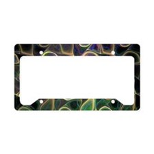 Fractal Art License Plate Holder
