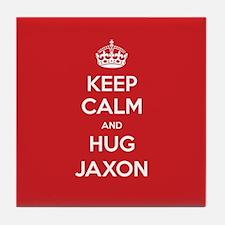 Hug Jaxon Tile Coaster