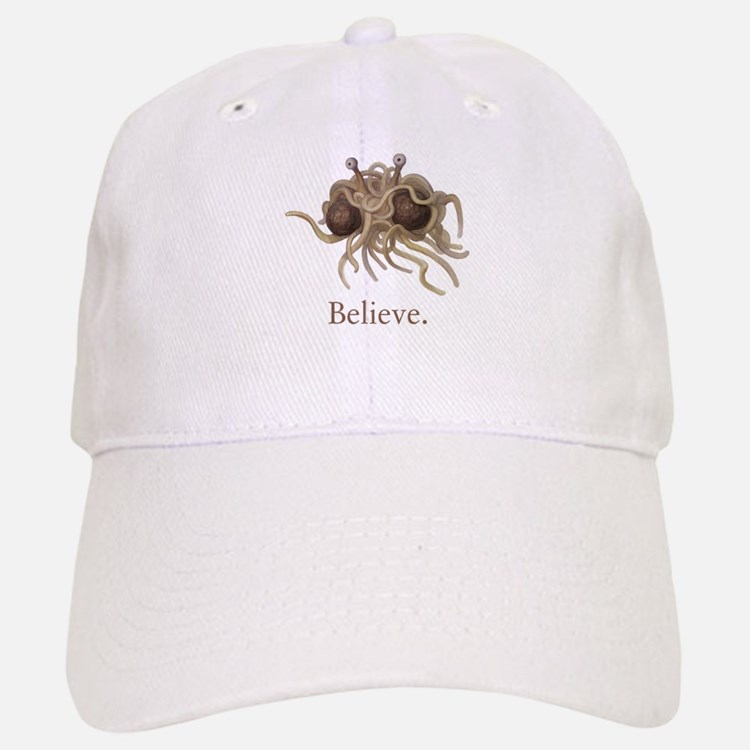 Flying Spaghetti Monster Believe Baseball Baseball Baseball Cap