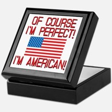 Perfect American Keepsake Box