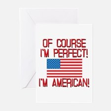 Perfect American Greeting Cards (Pk of 10)