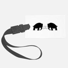 Mammoths Embrace - Luggage Tag