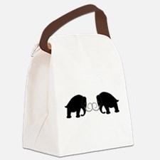 Mammoths Embrace - Canvas Lunch Bag