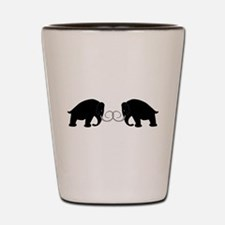 Mammoths Embrace - Shot Glass
