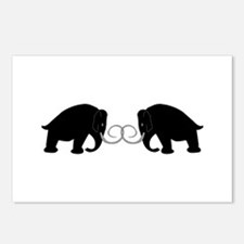 Mammoths Embrace - Postcards (Package of 8)