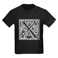 Decorative Letter X T-Shirt