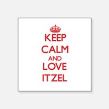 Keep Calm and Love Itzel Sticker
