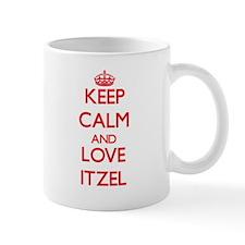 Keep Calm and Love Itzel Mugs