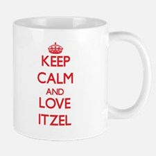 Keep Calm and Love Itzel Mugs