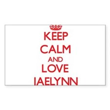 Keep Calm and Love Jaelynn Decal