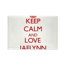 Keep Calm and Love Jaelynn Magnets