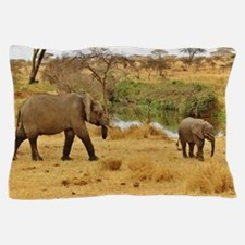 Safari Elephant Pillow Case