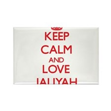 Keep Calm and Love Jaliyah Magnets
