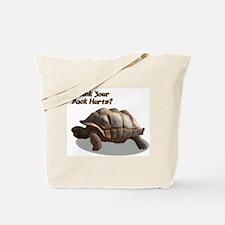 Tortoise backache Tote Bag