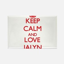 Keep Calm and Love Jalyn Magnets