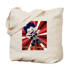 Little Billy Vampire Stripes Tote Bag
