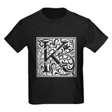 Decorative Letter K T-Shirt