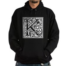 Decorative Letter K Hoodie