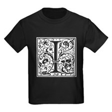 Decorative Letter I T-Shirt