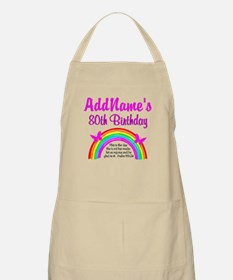 80TH RAINBOW Apron