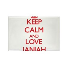 Keep Calm and Love Janiah Magnets