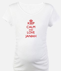 Keep Calm and Love Janiah Shirt